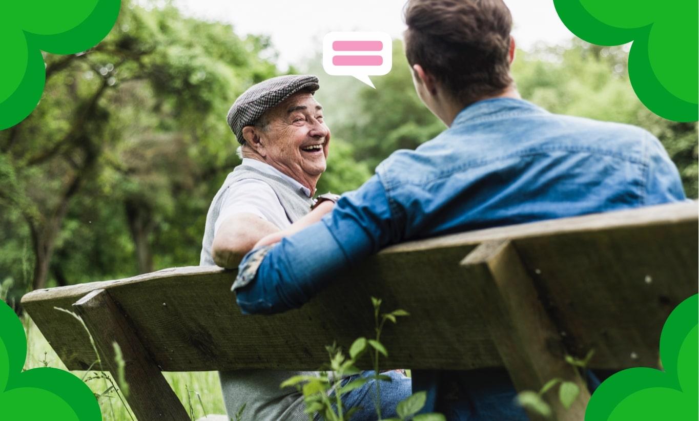 Tolles Zukunftsmodell: wenn Alt und Jung zusammenrücken - DAK-Gesundheit