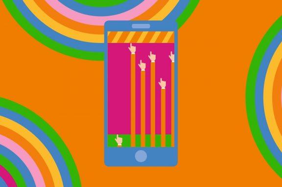 Motiv zum Thema Smartphonekonsum