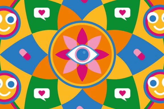 Motiv zum Thema Mandala